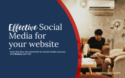 Social Media for Website best approach