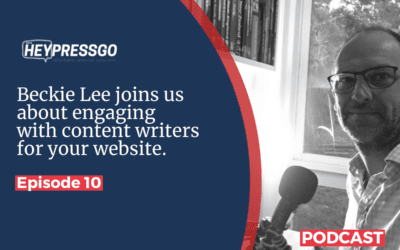 Conversations with Beckie Lee about Engaging with a content writer for your website.