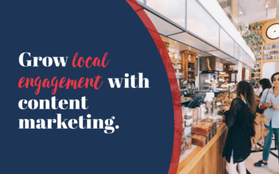 How to do content marketing for local business, the right way.